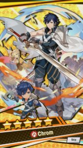 Chrom summoned in Dragalia Lost